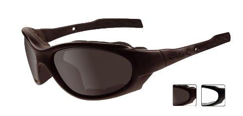 Wiley X - Gafas protectoras XL-1 Advanced en juego con 2 cristales, colo rnegro mate,  S/L, 291 2