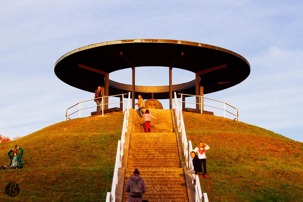 Fliegeberg, 'La montaña de vuelo' de Otto Lilienthal