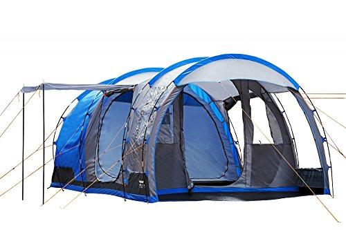 4 - 1 tienda Camping hombre smartphonez/1dbl + 2 sgl sacos de dormir 1