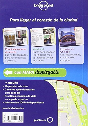 Lonely Planet Chicago De Cerca (Travel Guide) (Spanish Edition) 1