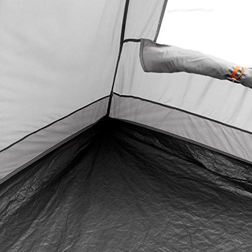 Easy Camp Richmond 500–Tienda de campaña, color gris/plateado, 5personas 1