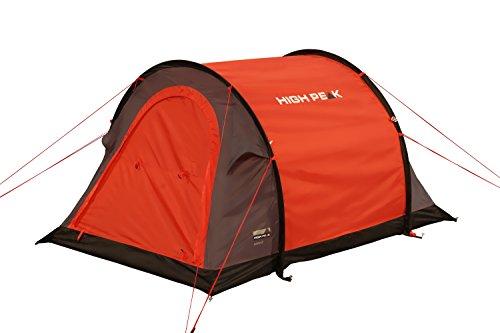 High Peak Stella 2 - Tienda de campaña instantánea, color rojo, talla STANDARD 1