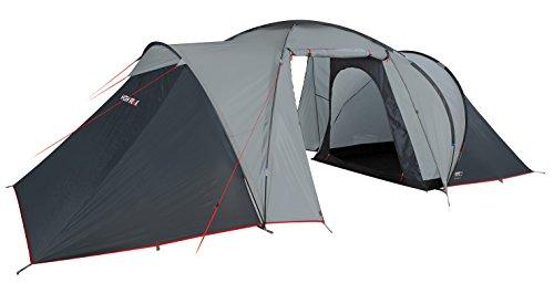 High Peak Zelt Como 6 - Tiendas de campaña de túnel, color gris, talla standard 1