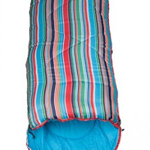 Mountain Warehouse Saco de dormir con estampado a cuadros Apex Mini