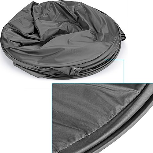 Neewer® 7 Feet/213cm Collapsible Indoor/Outdoor Camping Photo Studio Pop Up Changing Dressing Tent Fitting Room with Carrying Case(Black) 2