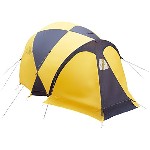 The North Face Bastion 4 Expedition Tent Summit Gold/Asphalt Grey 10