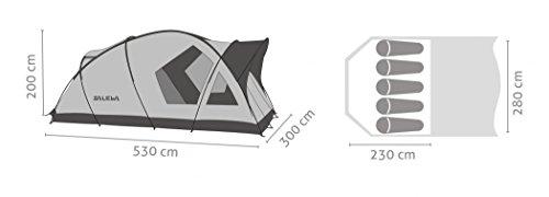 Salewa Alpine Lodge V Tent - Tienda de campaña, color verde, talla única 1