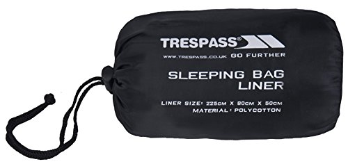 Trespass Slumber Sleeping Bag Liner – Grey