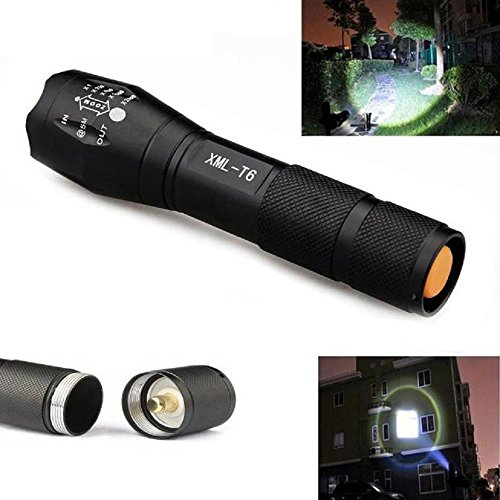 flashlight led vovotrade 3500 Lumen 5 modos del XM-L T6 LED de la antorcha de gran alcance 18650 luz de la lámpara de la linterna 1