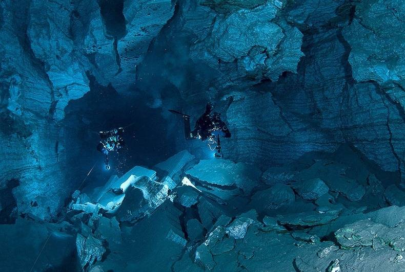Cueva Orda la cueva de yeso más larga del mundo subacuático 1