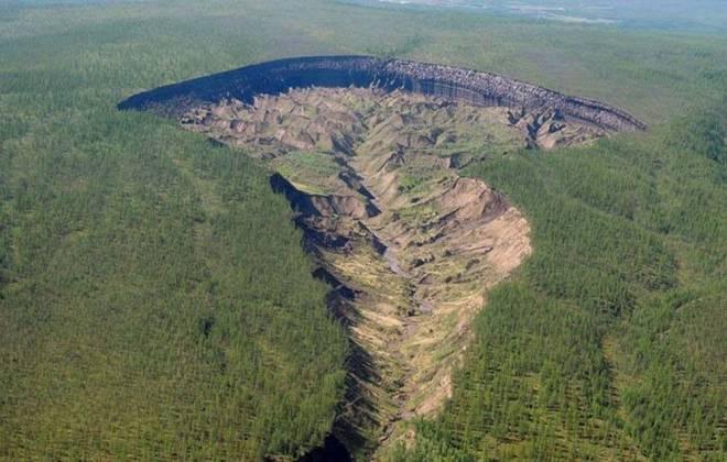 Cráter de Batagaika, Siberia