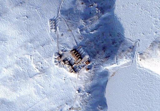 Foto satélite de Alert