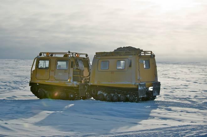 Transporte en Nieve en Alert