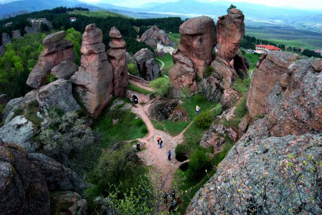 Las extrañas rocas de Belogradchik