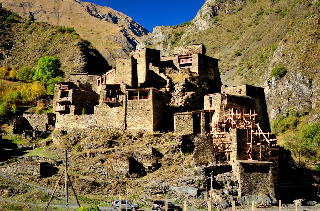 Shatili – Pueblo fortaleza medieval en Georgia