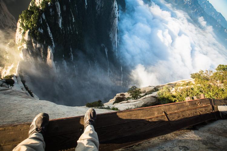 Huashan: El lugar turístico más peligroso del mundo