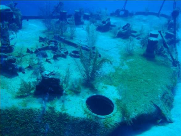 Los naufragios de las Islas Caimán