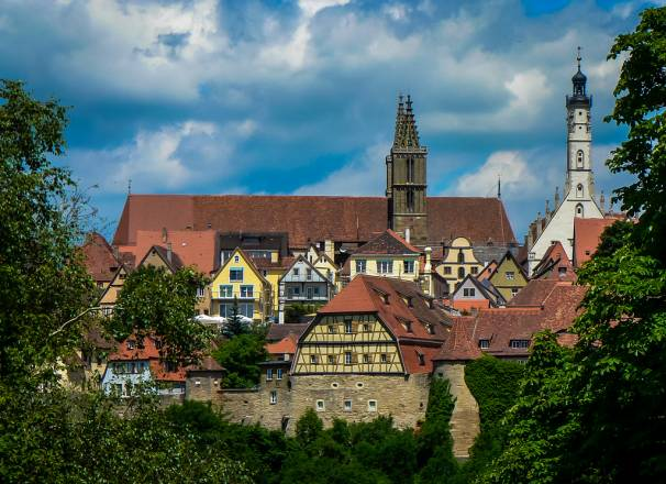 Rothenburg ob de Tauber (LR5 processing)