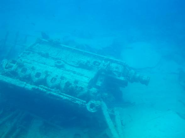 Shipwreck in Grand Cayman Island