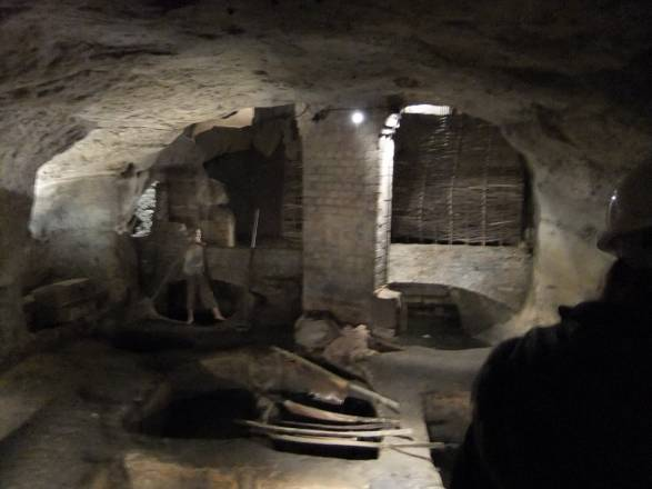 Las Cuevas De Nottingham - The medieval tannery - City of Caves, underneath Broadmarsh Shopping Centre - Nottingham