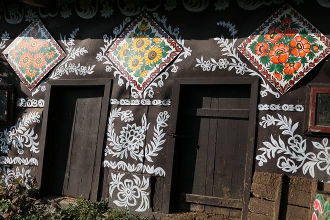 Zalipie - malowana wieś / Zalipie - painted village