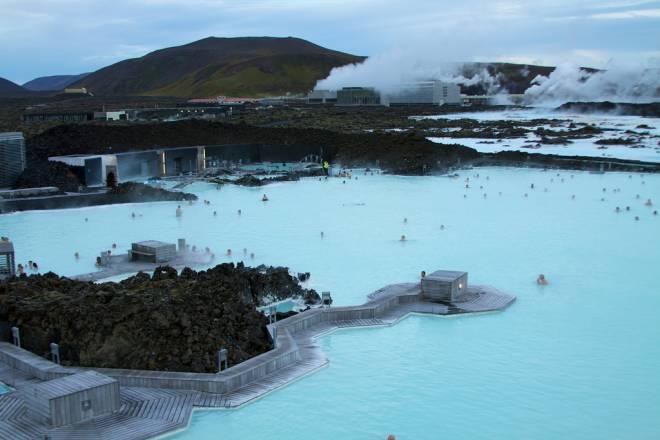 Laguna Azul un spa geotérmico en Islandia