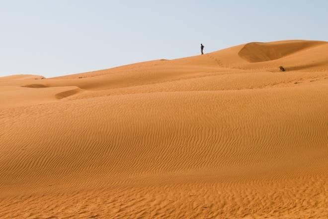 La dunas de arena de Rub al-Jali