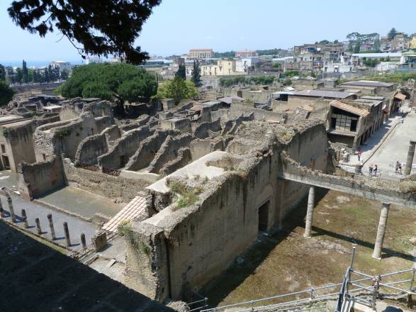 First views of Herculaneum