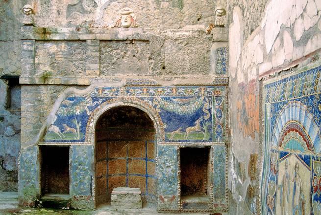 Herculano - Casa di Nettuno e Anfitrite