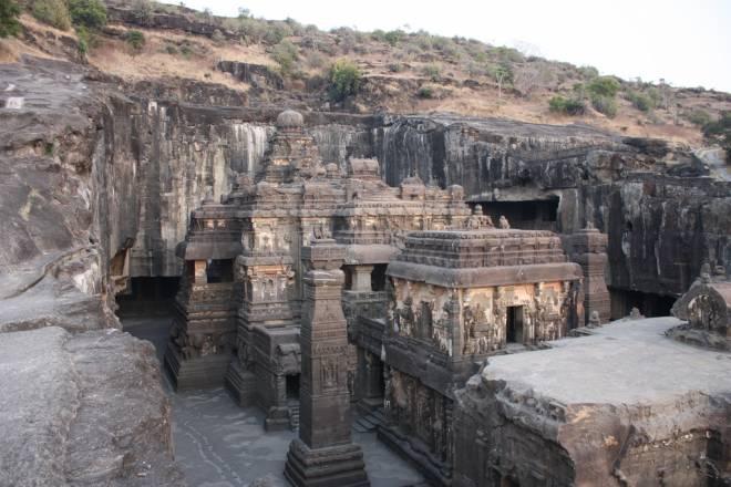 Kailasa: Templo hindú tallado en una sola roca