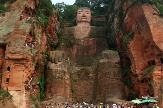 Da Fo, Leshan (Grand Buddha)