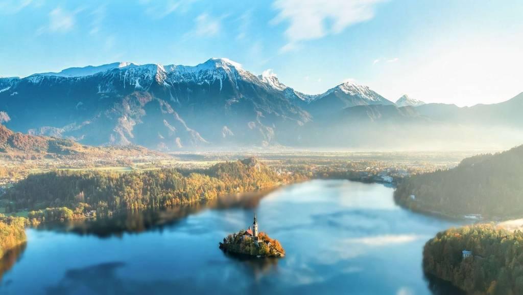 Isla Bled, Lago Bled