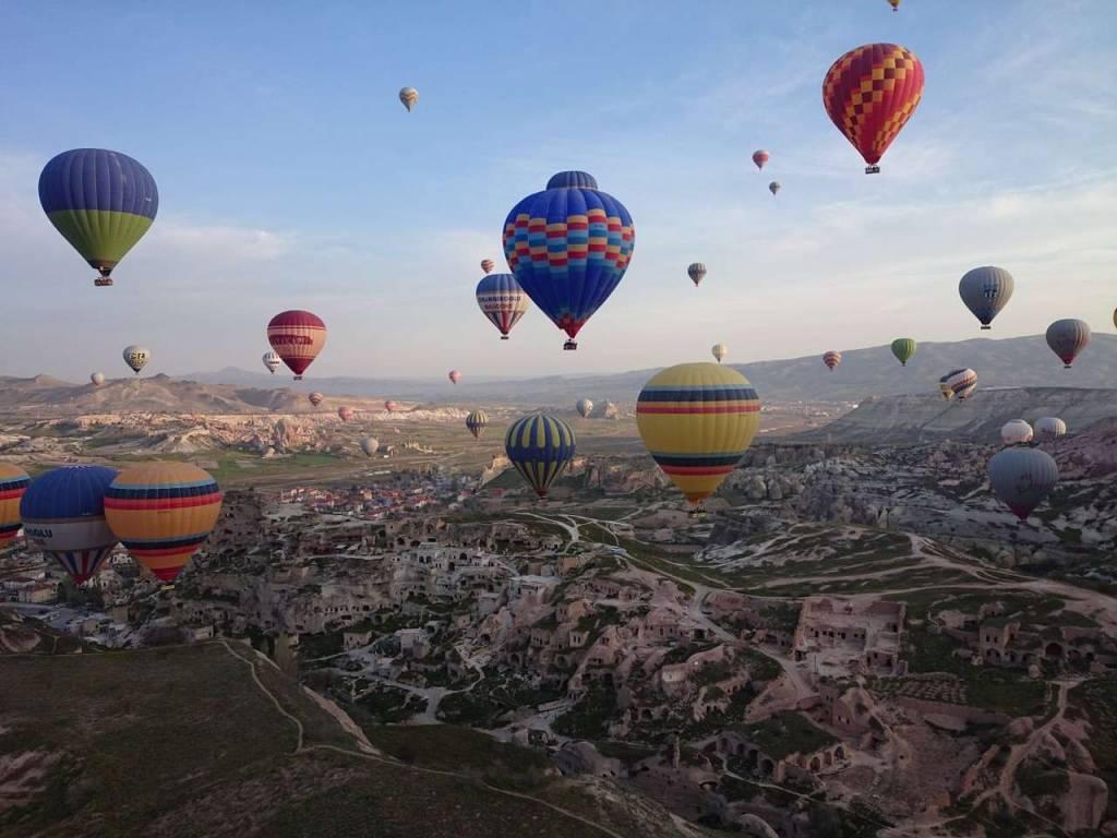 50 lugares más bellos del mundo. Cappadocia, Turquía.