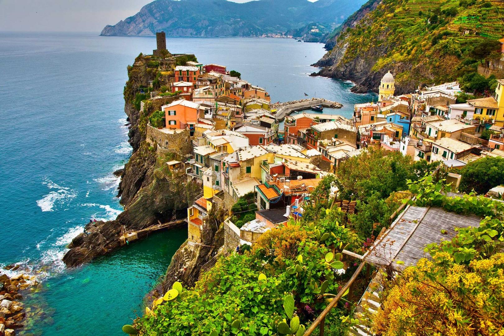 Cinque Terre en Italia te enamorará