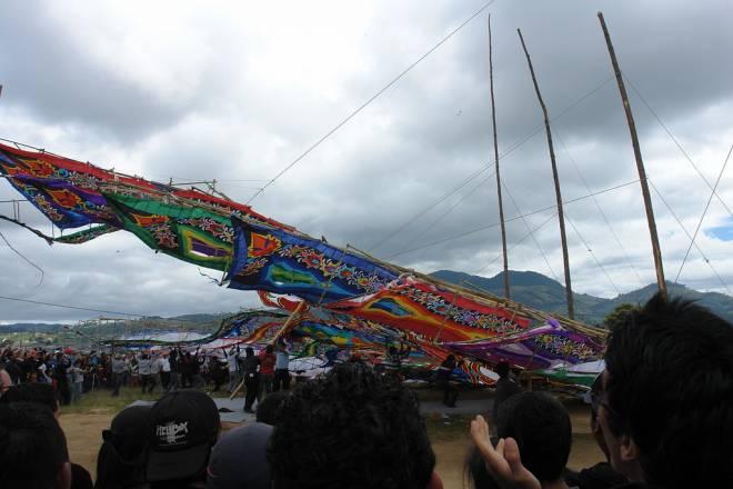 El fenix - Festival de cometas gigantes en Guatemala