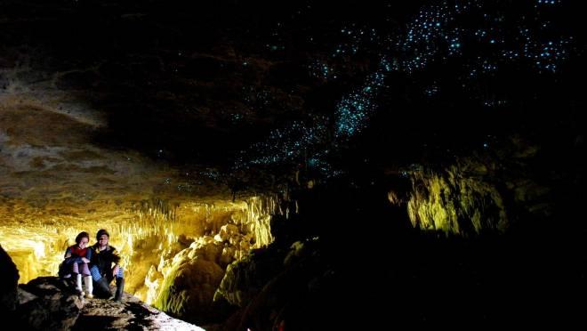 Cuevas Glowworm: Waitomo, Nueva Zelanda
