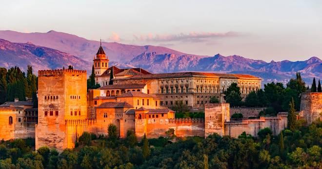 Granada, España, la tierra de los mil castillos