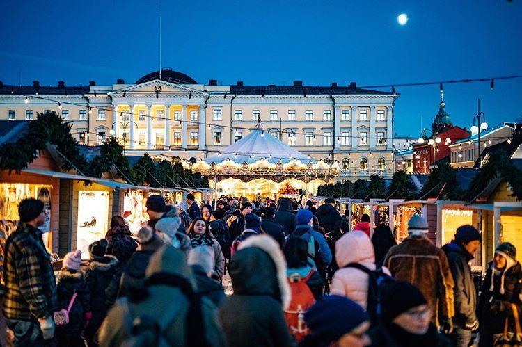 Mercado Navideño de Helsinki