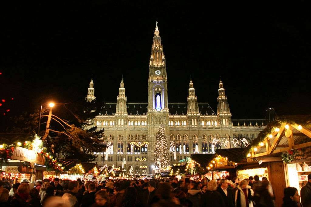 Mejores mercados navideños europeos - Viena