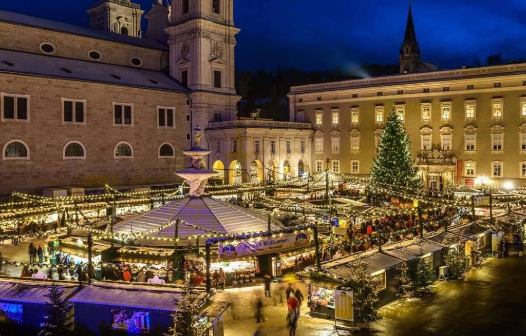 Salzburgo - Mejores mercados navideños en Europa