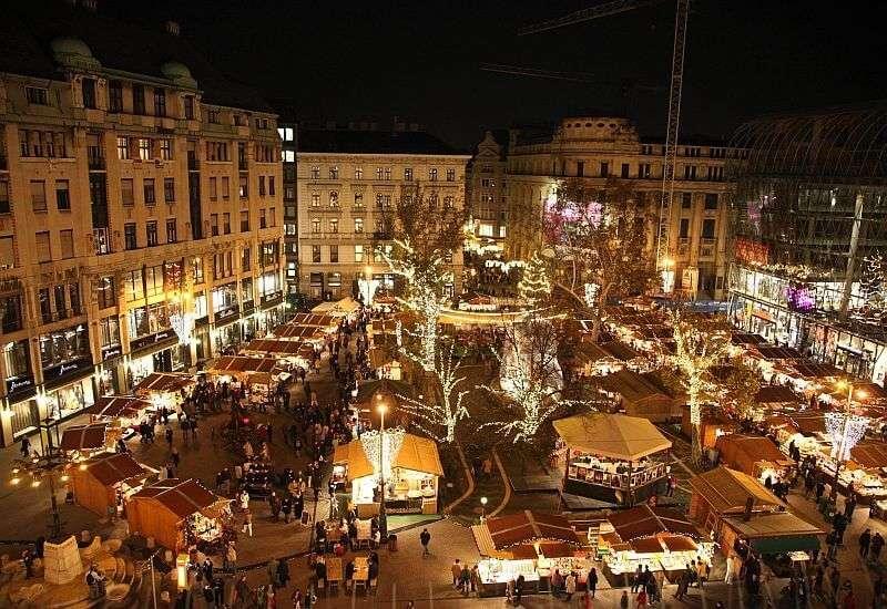Mejores mercados navideños europeos - Budapest