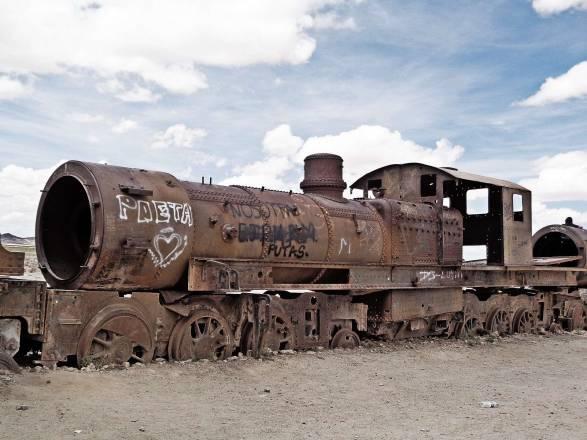 Cementerio de Trenes Uyuni