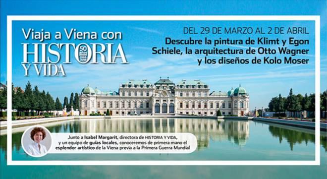 Viaja a Viena con la revista Historia y Vida (Viaje)