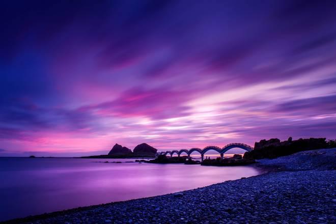 Sansiantai: el Puente del Dragón a la isla de los Tres Inmortales
