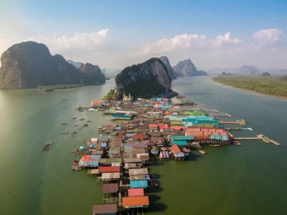 Ko Panyi: Pueblo flotante de Tailandia