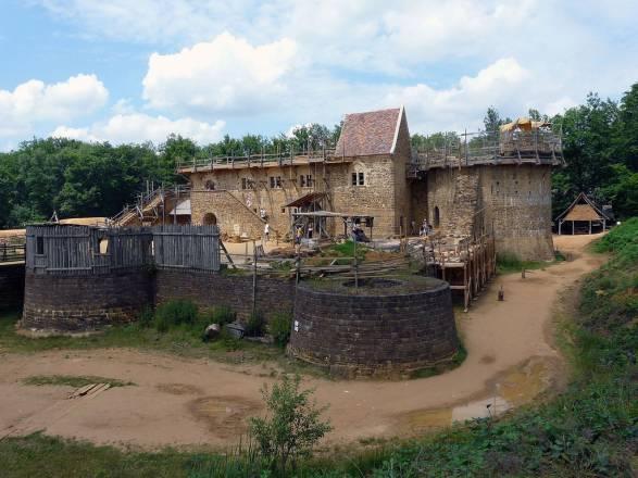 Guédelon, un nuevo castillo medieval se levanta en Francia