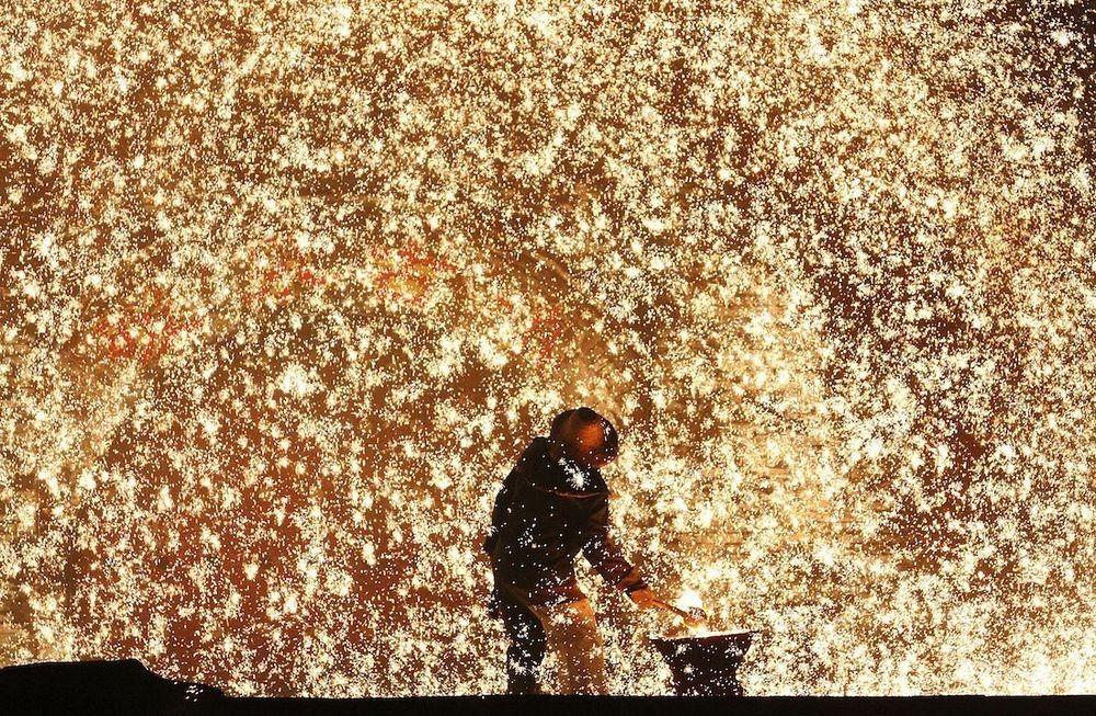 Da Shuhua, festival de lanzamiento de hierro fundido 1