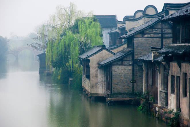 Wuzhen: Antiguo Pueblo Chino Sobre El Agua