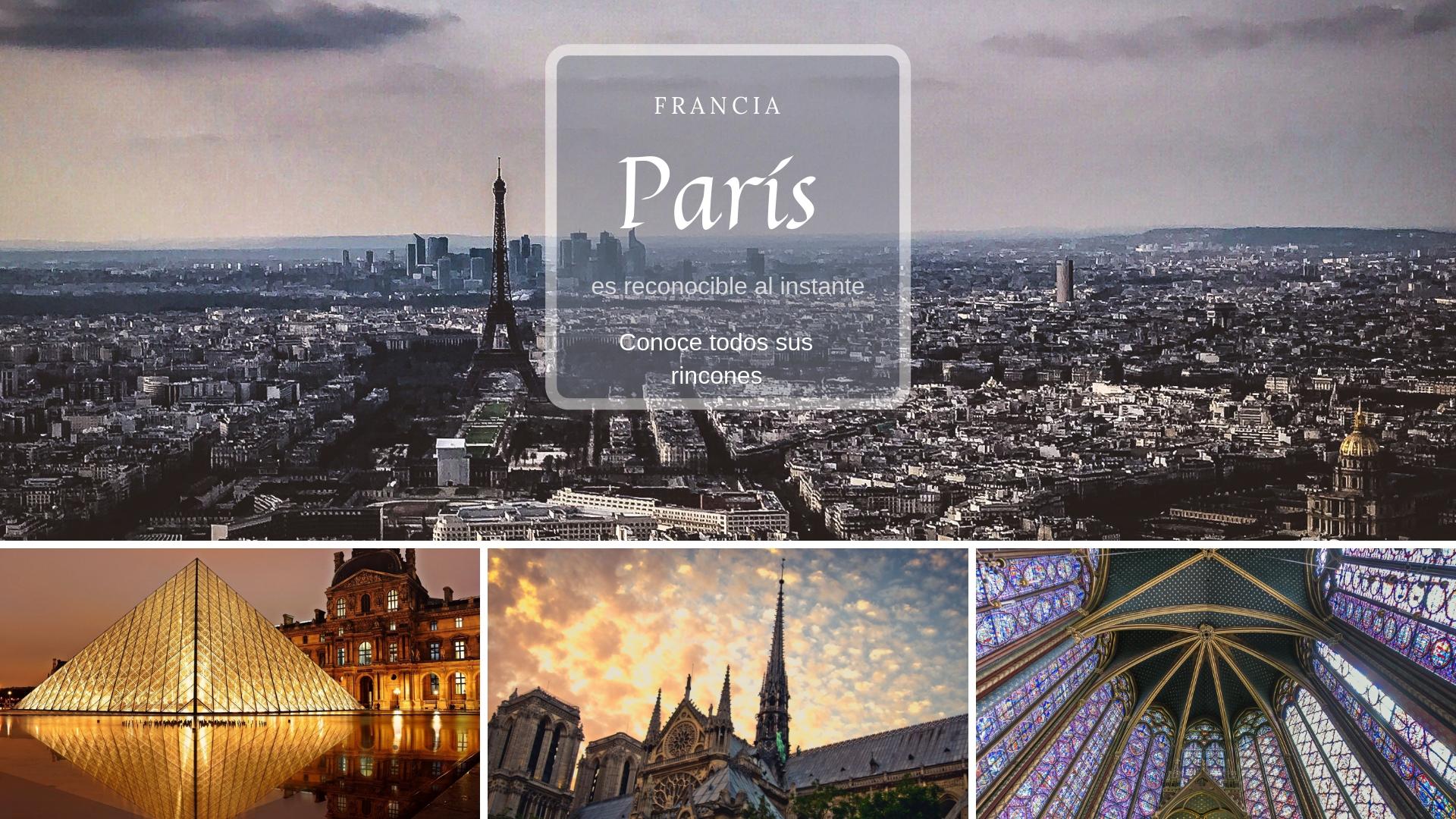 Guía de París - Turismo - Descubre todos los rincones de la ciudad