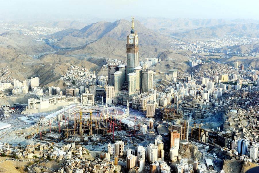 Los Mega Hoteles de La Meca - Abraj Al Bait